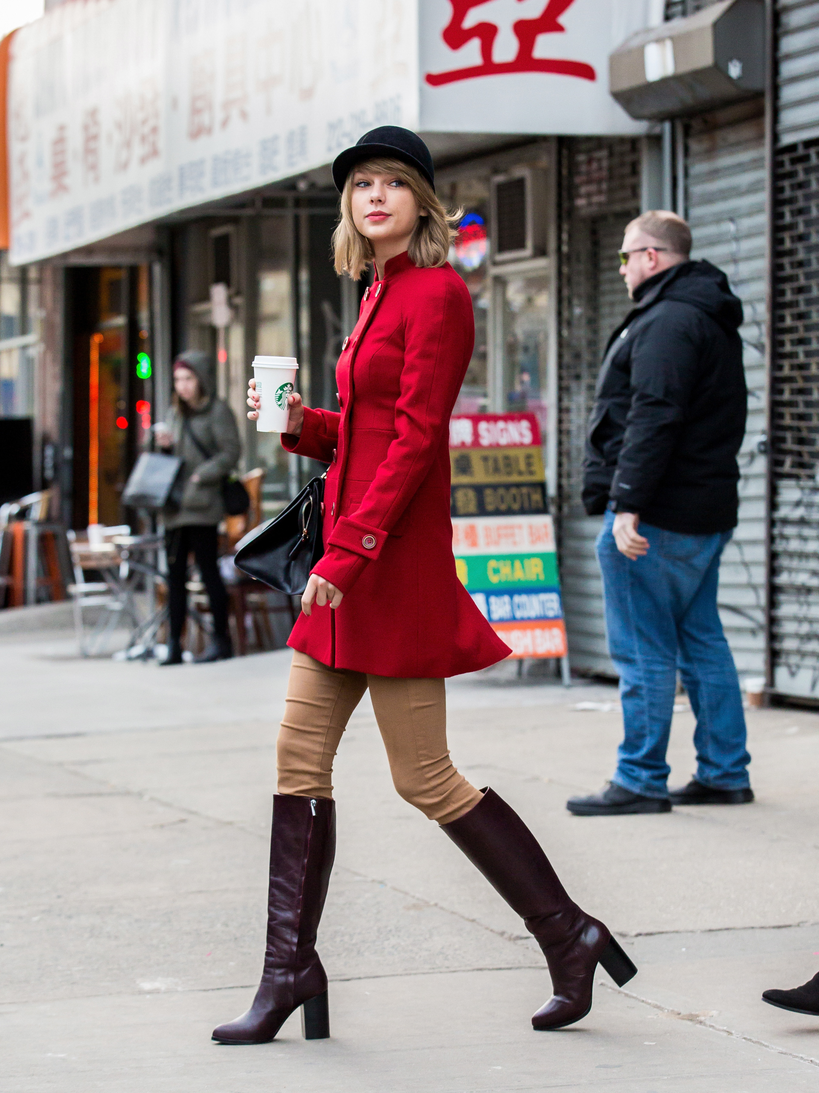 Taylor Swift Street Style Taylor Swift New York Fashion