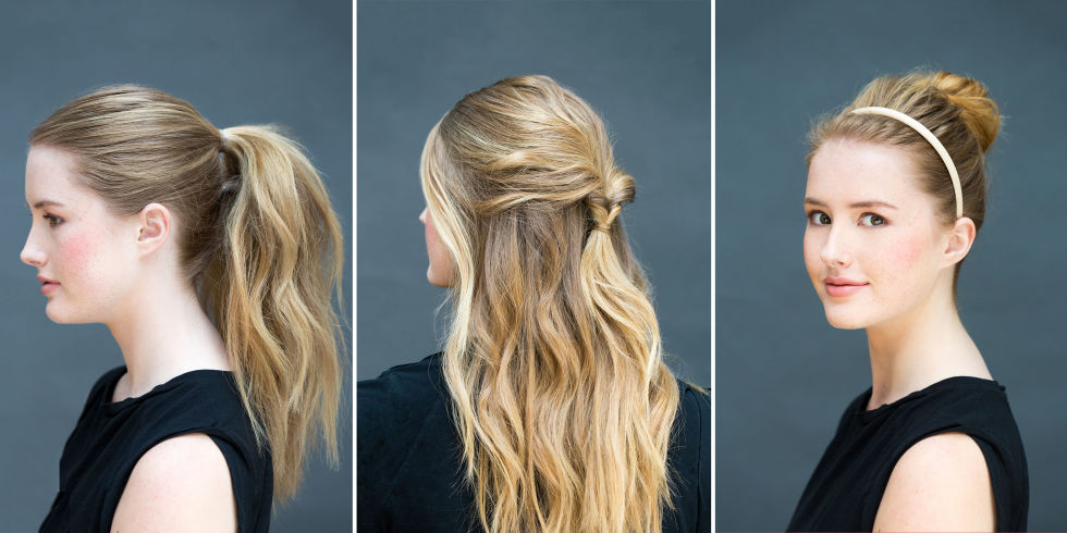 Astonishing 10 Easy Hairstyles You Can Do In 10 Seconds Diy Hairstyles Short Hairstyles Gunalazisus