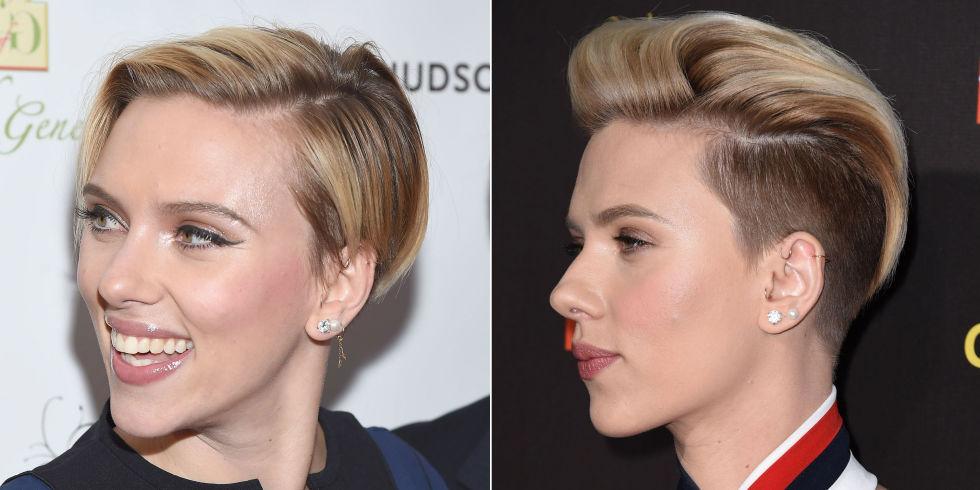 Scarlett Johansson Hair - Celebrity Hair Changes 2015