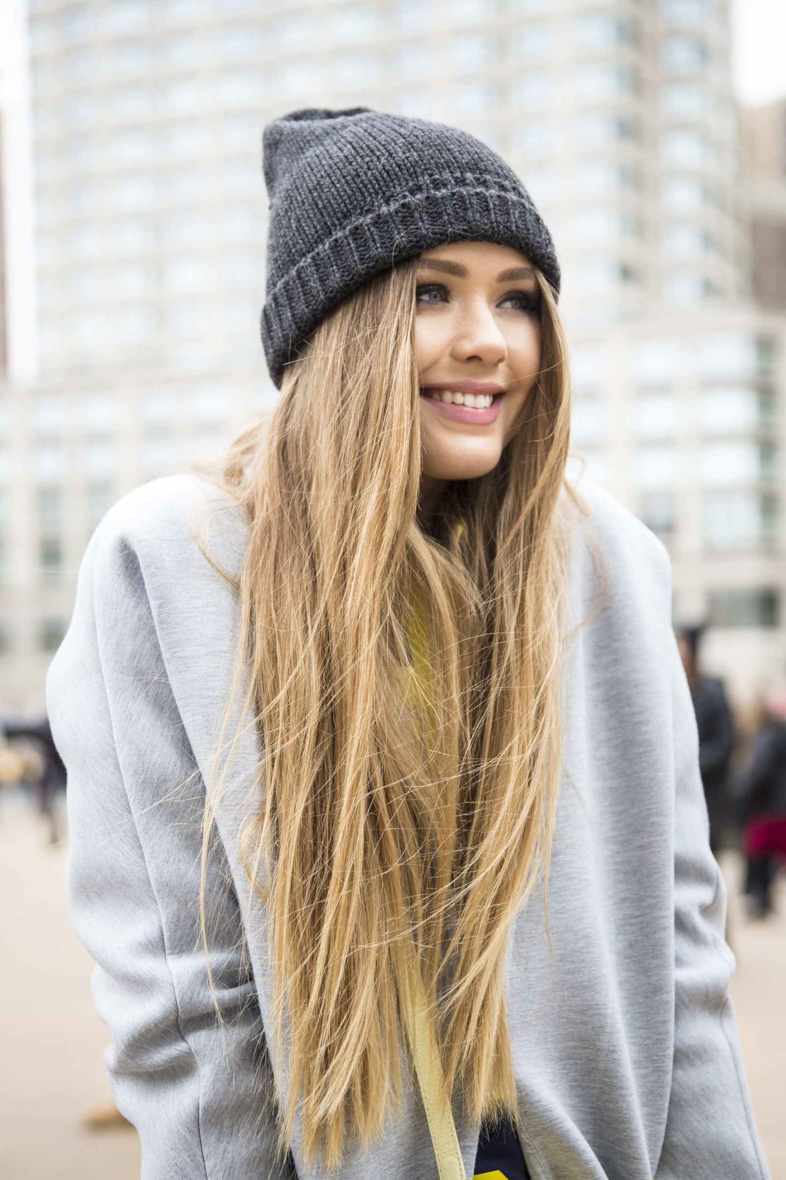 Really Long Hair Hairstyles The Best Hairstyles At Nyfw Photos