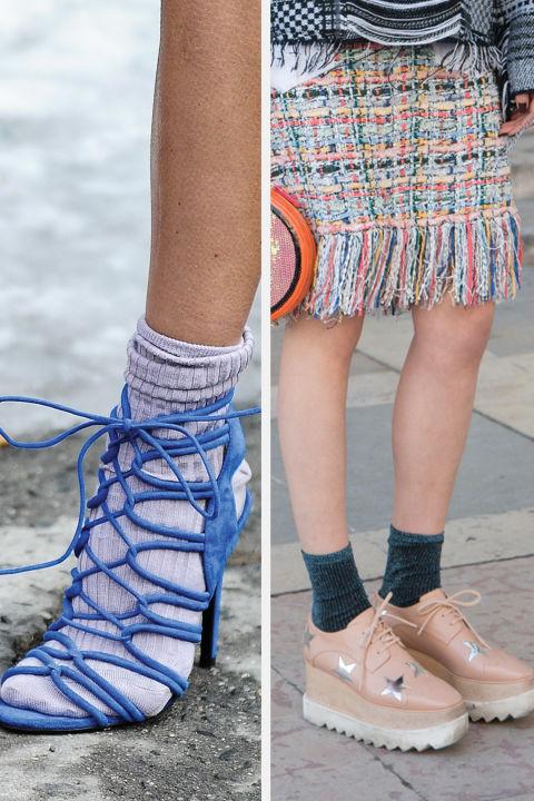 exposed socks