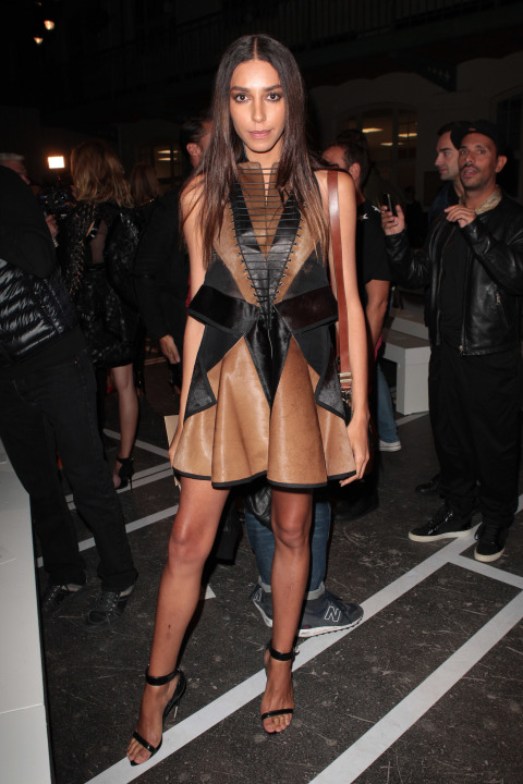 """The transgender model was discovered by Givenchy senior designer Riccardo Tisci and became the face of Givenchy in late 2010. After that, she appeared in many magazine editorials and strutted her stuff on runways. In 2014, she also became the face of Redken, making her the first openly transgender model to front a global cosmetics brand. """"I love working with Redken because they appreciate all kinds of beauty,"""" she said. """"They believe in the individuality of the person, and I think that's really important.""""<br />"""