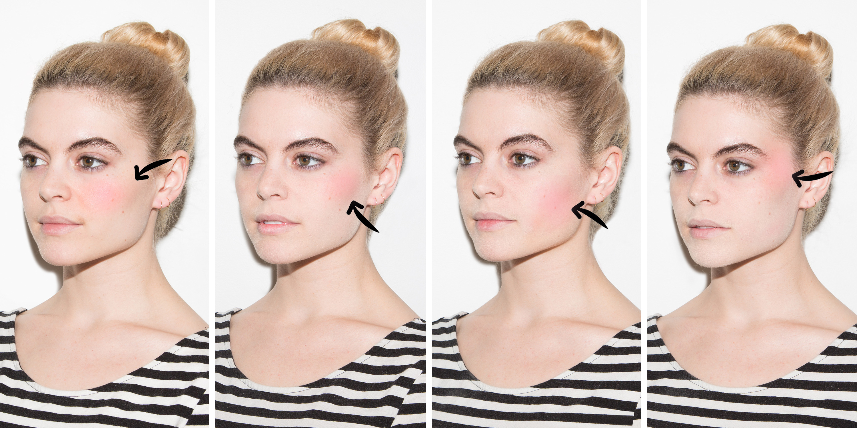 How to Apply Blush in 4 Steps