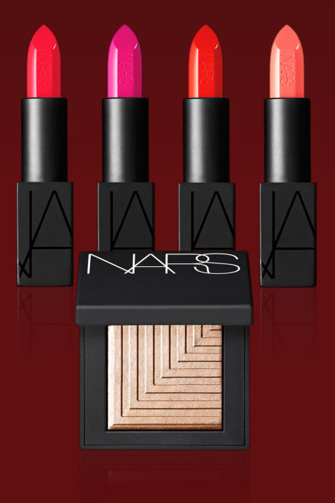 """The Jury's Choice: Legendary makeup artist Francçois Nars knows color, whether it's practically invisible foundations and natural—looking blushes or bold lipsticks and bright eyeshadows that pop. To celebrate the 20th anniversary of his brand, he outdid himself with the Audacious Lipstick collection (intense full—coverage colors with a matte finish) and the Dual—Intensity Eyeshadows (shades that can be worn wet or dry for different effects). Perfectly gorgeous. Dual-Intensity Eyeshadow in Himalia, $29; and Audacious Lipstick in Bette, Carmen, Grace, and Julie, $32 each; narscosmetics.com The Jury Speaks: """"This French makeup artist who started to conquer New York 20 years ago is a true success story."""" """"The line is a girl's dream, with to-die-for colors each season and beautiful textures that are glam without being overly sexy."""" """"With his multiple collaborations, Nars has a true love of women and knows what can make them even more beautiful and desirable."""" """"It's been 20 years of pure colors, the best pigments, fabulous blushes, and pencils that glide--a faultless performance that deserves to be celebrated."""" """"The matte black compacts are the darlings of makeup artists and beauty insiders worldwide. This great, unpretentious artist deserves the limelight."""""""