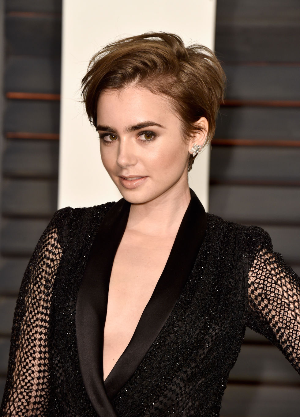 From lily collins hairstyles 2017 best haircuts and hair colors - From Lily Collins Hairstyles 2017 Best Haircuts And Hair Colors 15