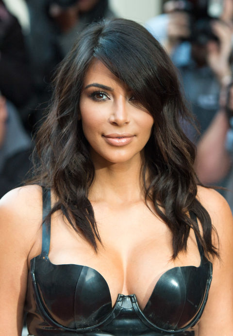 We call this Day #2 of the Kim Kardashian 5-Day Hair Plan. It's a game-changer, trust.
