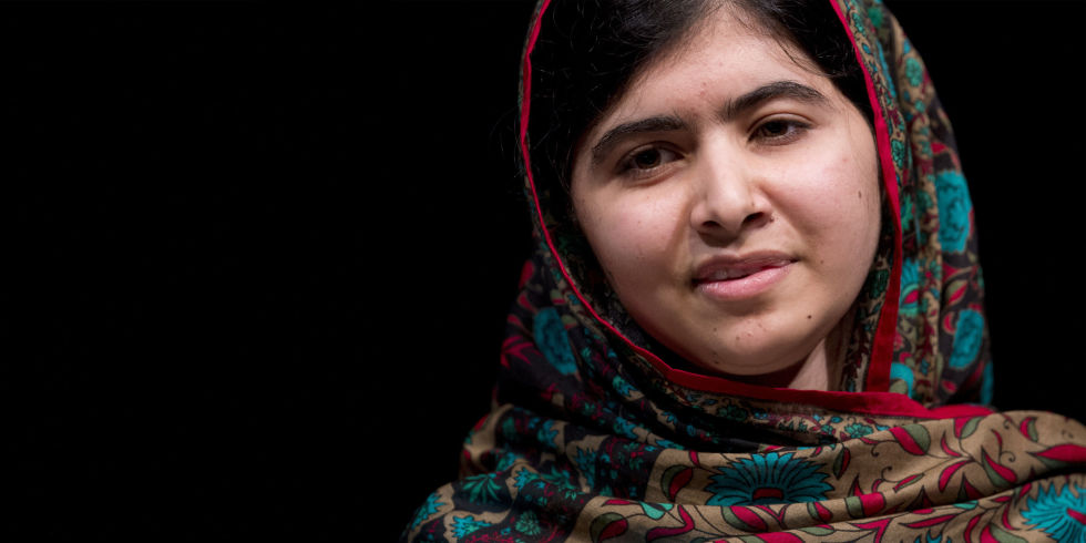 Malala - Magazine cover