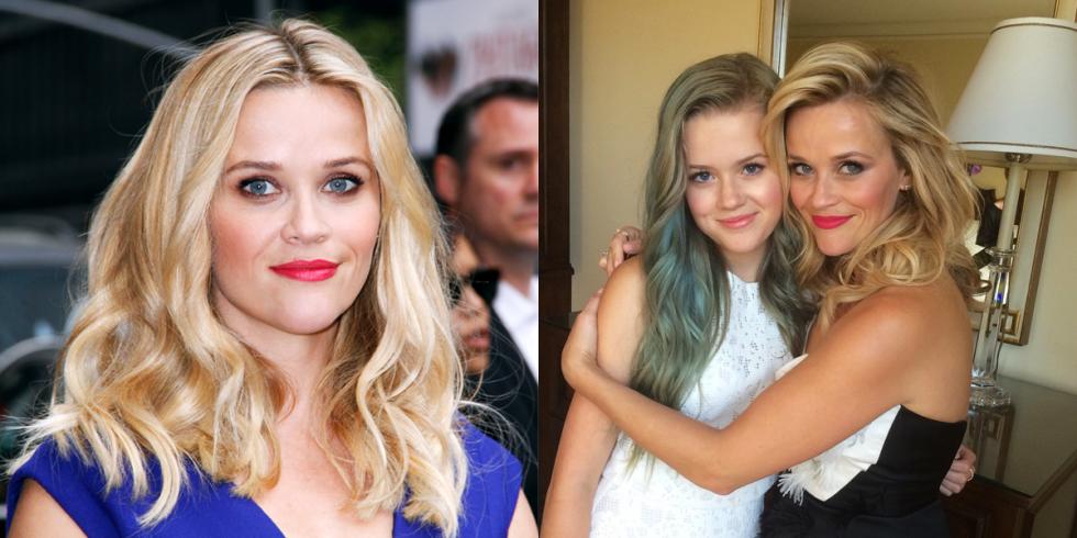 Enjoyable Celebrity Lookalike Mother Daughters Stars Who Look Like Their Moms Hairstyles For Women Draintrainus
