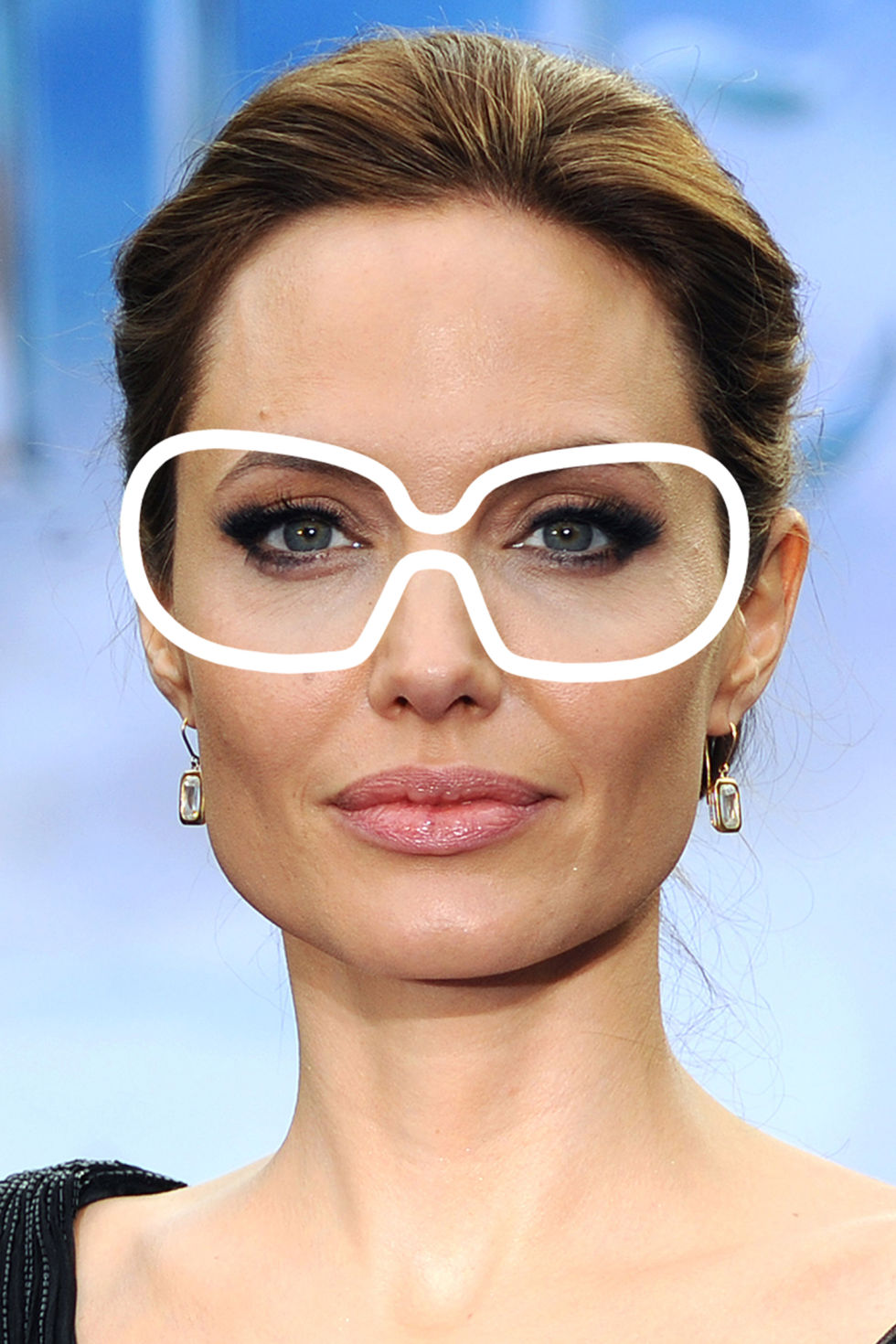 big glasses frames trend ze3s  12 Best Sunglasses for Every Face Shape