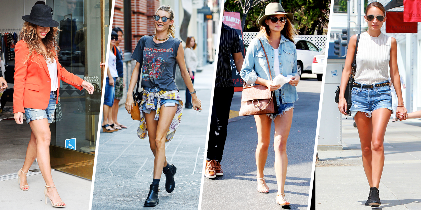 denim cut off shorts trend for summer 2015 how to wear