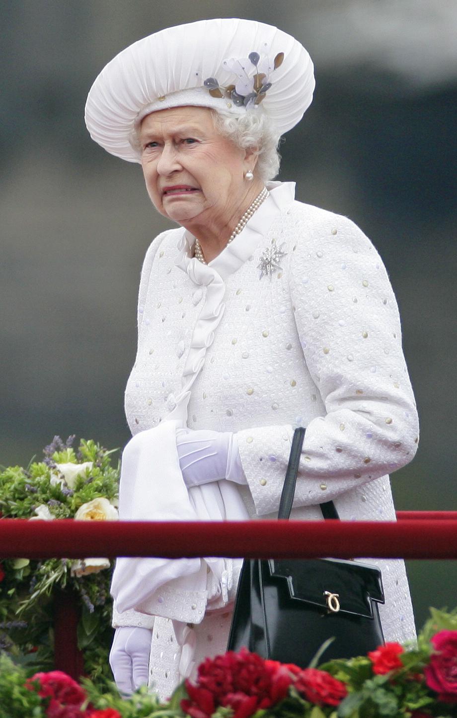 Queen Majesty Elizabeth Ii Not A Fan Of Wedges Wedge