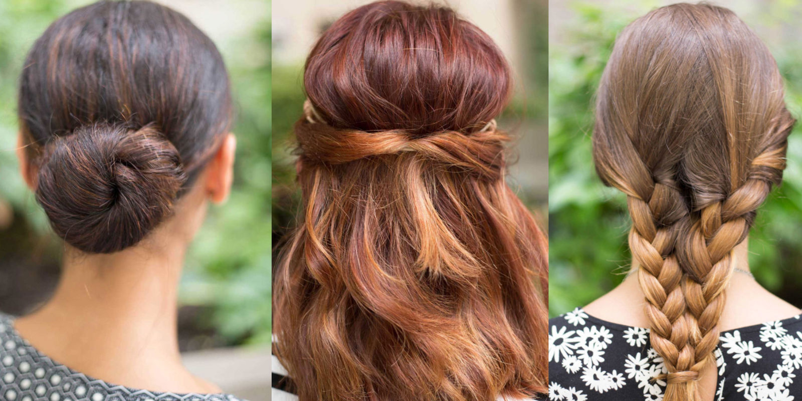 15 super easy hairstyles for lazy girls who can t even