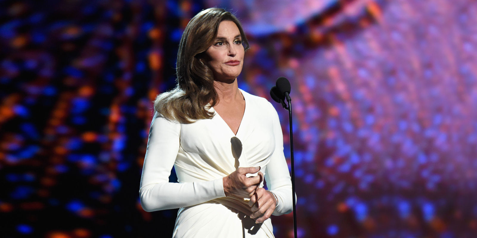 Jessica Pels Caitlyn Jenner Appears At The Espy Awards First Public