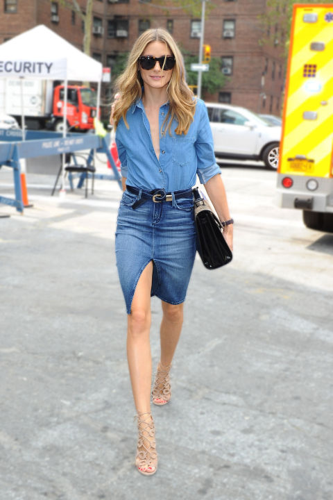 Celebrity Denim Canadian Tuxedo Looks - How to Wear Denim on Denim