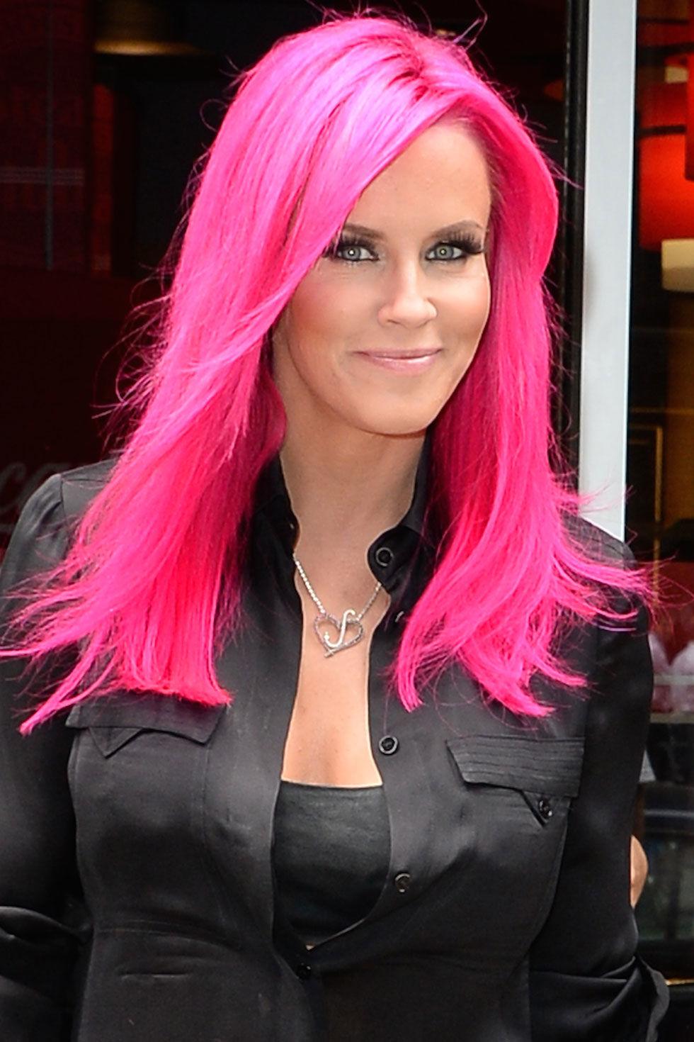 Dye Black Hair Pink Impression Hair Style