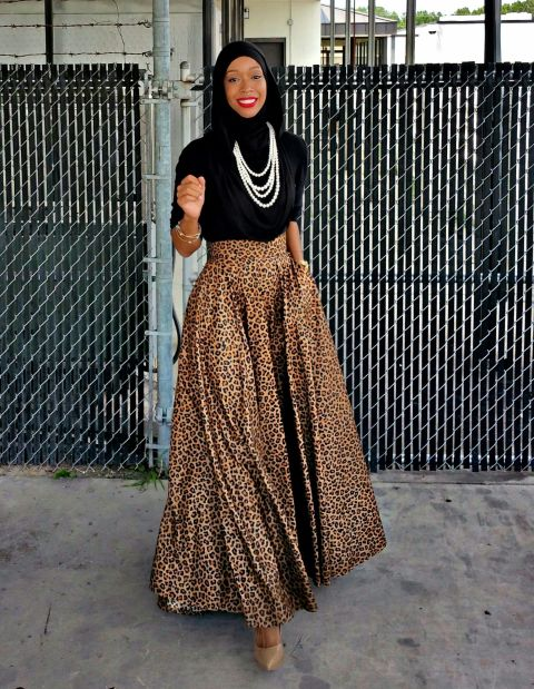 Image result for hijab fashion -  black americans on casual styles