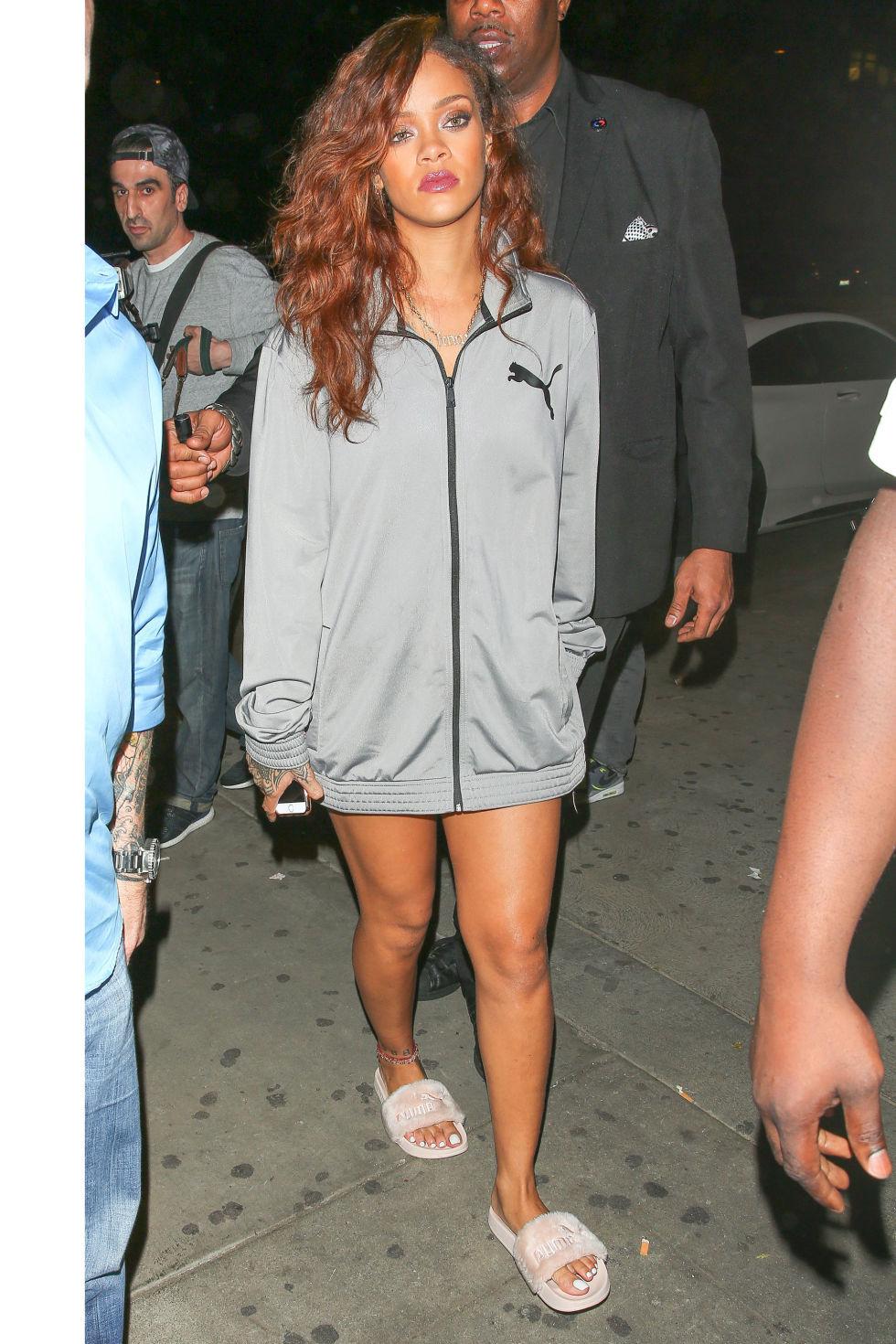Rihanna Winter Outfits Wwwgalleryhipcom The Hippest Pics