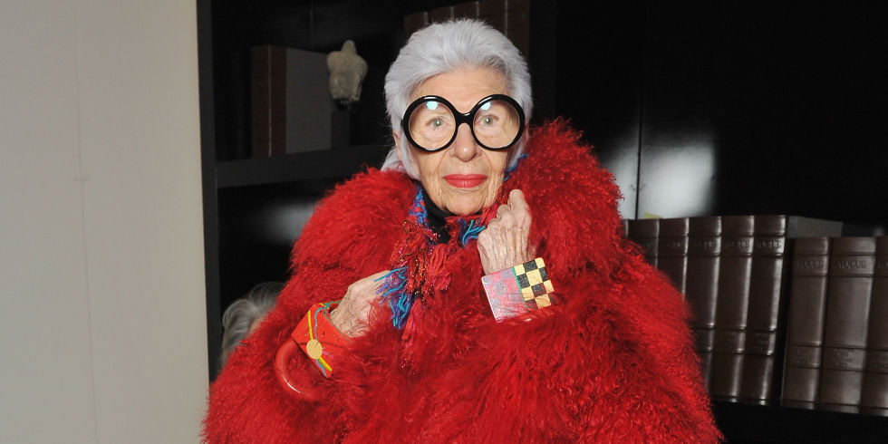 Iris Apfel on Standing Out, Social Media, and Kanye in the White House :   Iris Apfel, Interior Designer and Fashion Icon