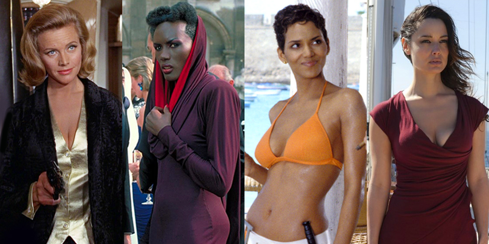 Pleasant Bond Girls Timeline And History All The James Bond Movie Actresses Short Hairstyles Gunalazisus