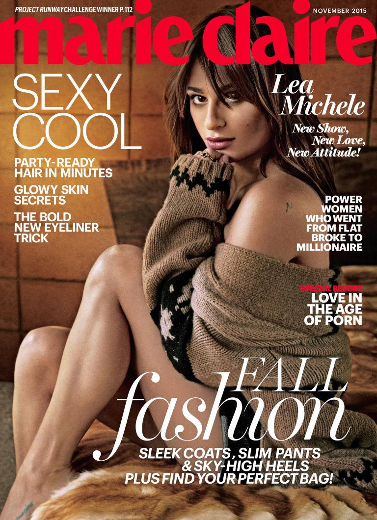 Lea Michele Marie Claire