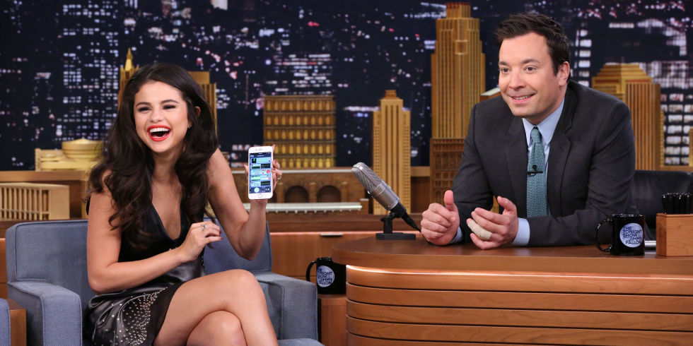 Selena Gomez Believes in Ghosts, Finds One Right in Jimmy Fallon's Studio :   Selena Gomez, Actress and Singer