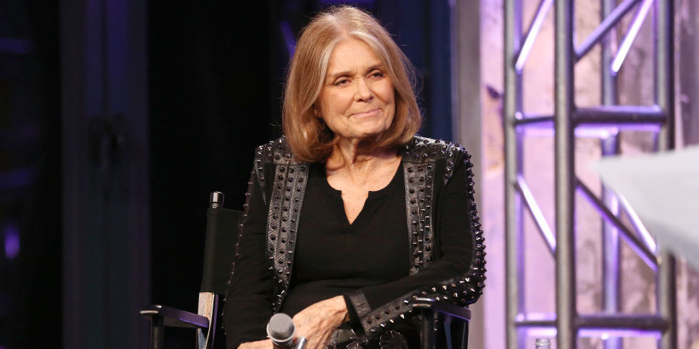 Interview with :   Gloria Steinem, feminist, journalist, and social and political activist  on Hillary Clinton, and T