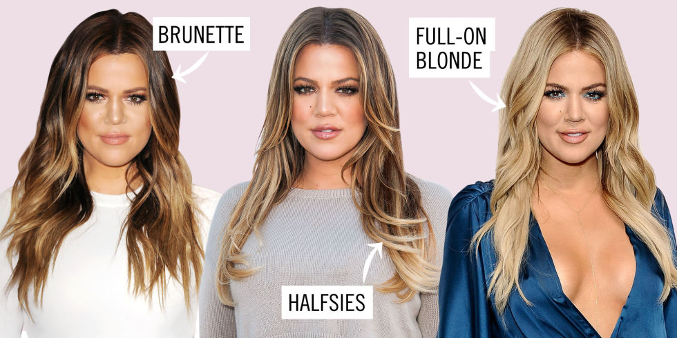 Can You Pull Off Going Blonde? This Test Will Tell You :   Tracey Cunningham, Khloé's own colorist and Redken creative consultant