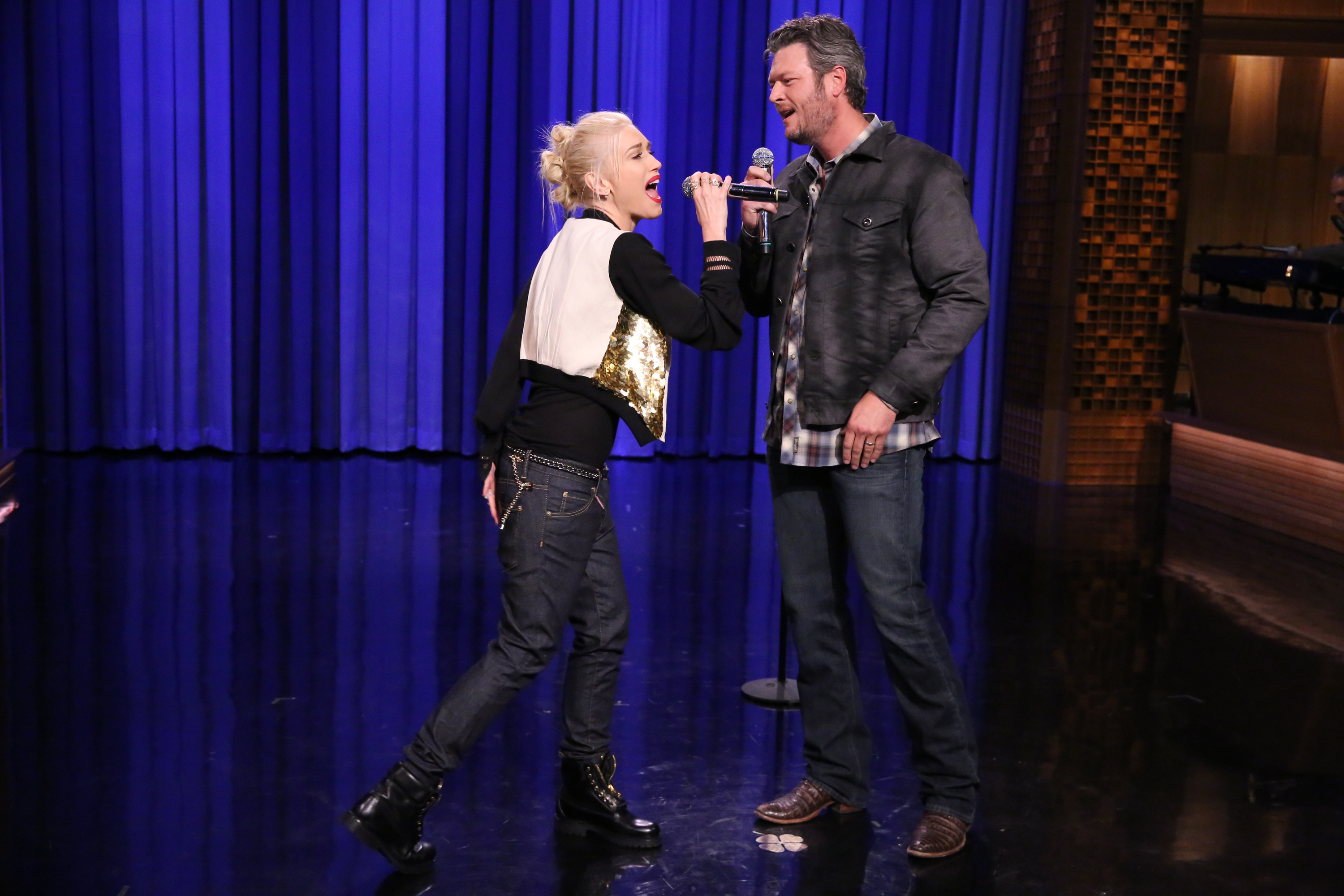 Gwen Stefani And Blake Shelton Wrote A Song Together