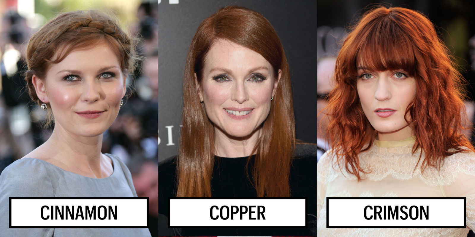 Best Red Hair Color for Skin Tone - Red Hair Color Ideas