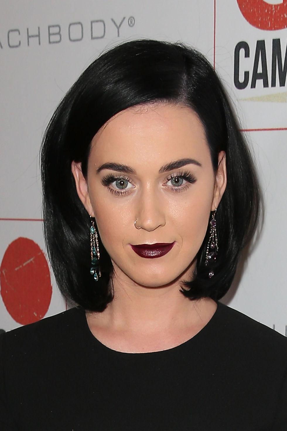 Zooey Deschanel Almost Famous Katy Perry Dark Brown ...