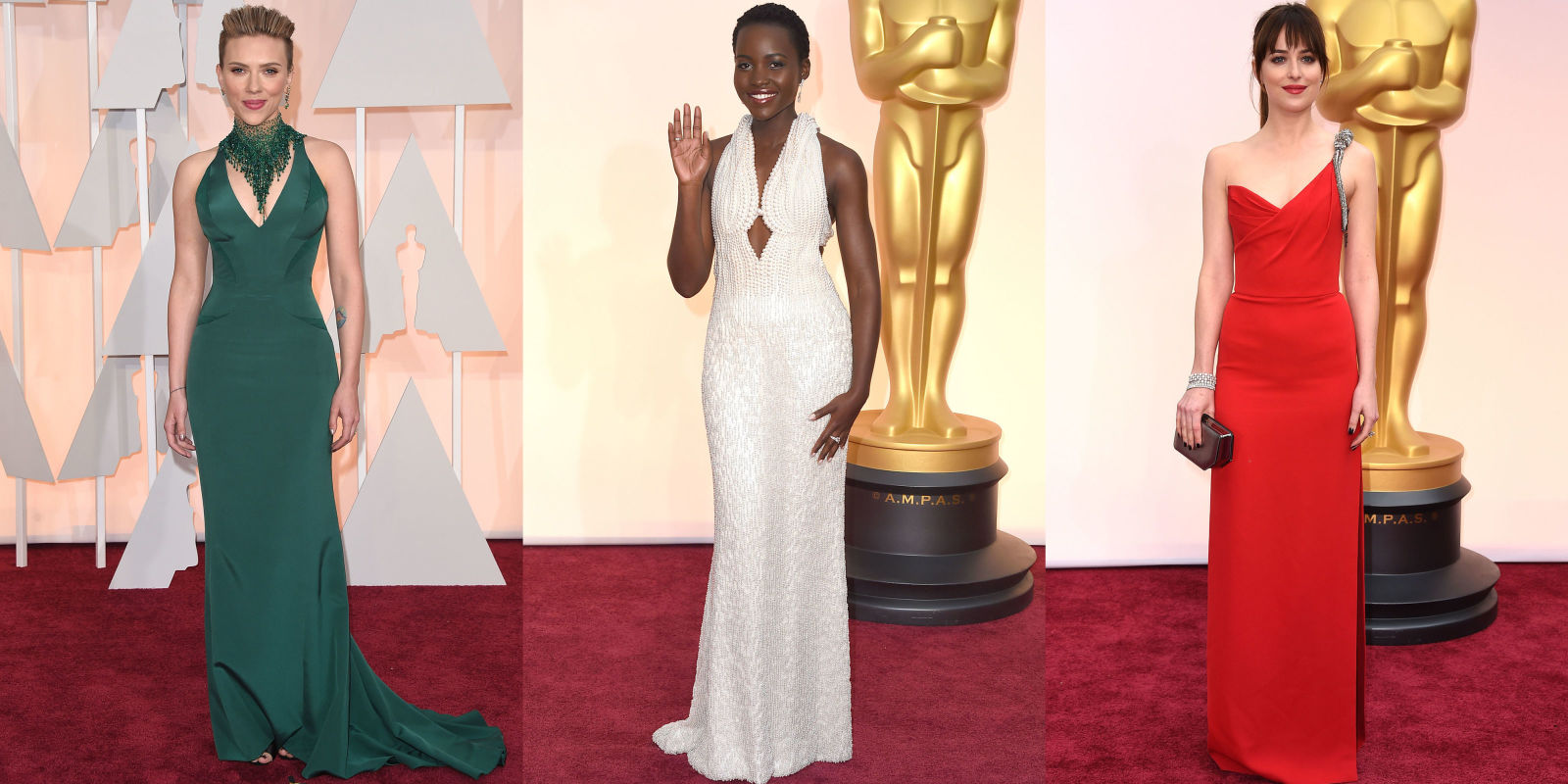 Most Popular Oscars Red Carpet Gowns 2015