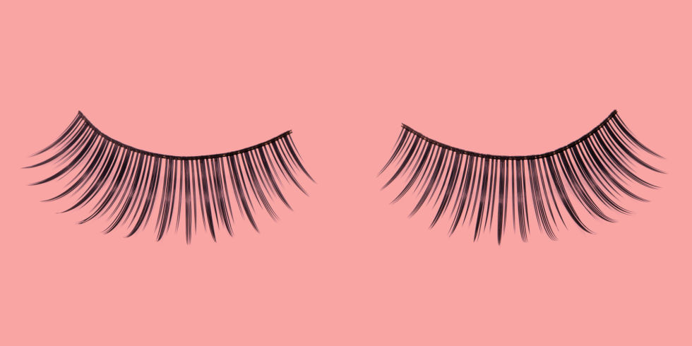 fake eyelashes how to apply fake eyelashes step by step