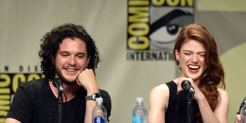 It Looks Like Jon Snow And Ygritte Are Dating In Real Life Again