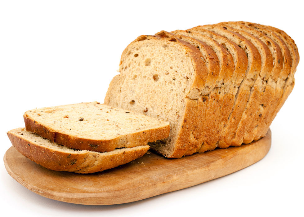 The refrigerator will dry out your bread quickly. Unless it's sliced sandwich bread that you plan on using in the next few days, keep it in the freezer or on the counter instead.