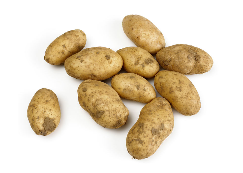 Keeping potatoes in the fridge will make them sweet and gritty, since the cold environment turns their starch into sugar more quickly. Instead, store them in a paper bag in a cool—but not cold—place.