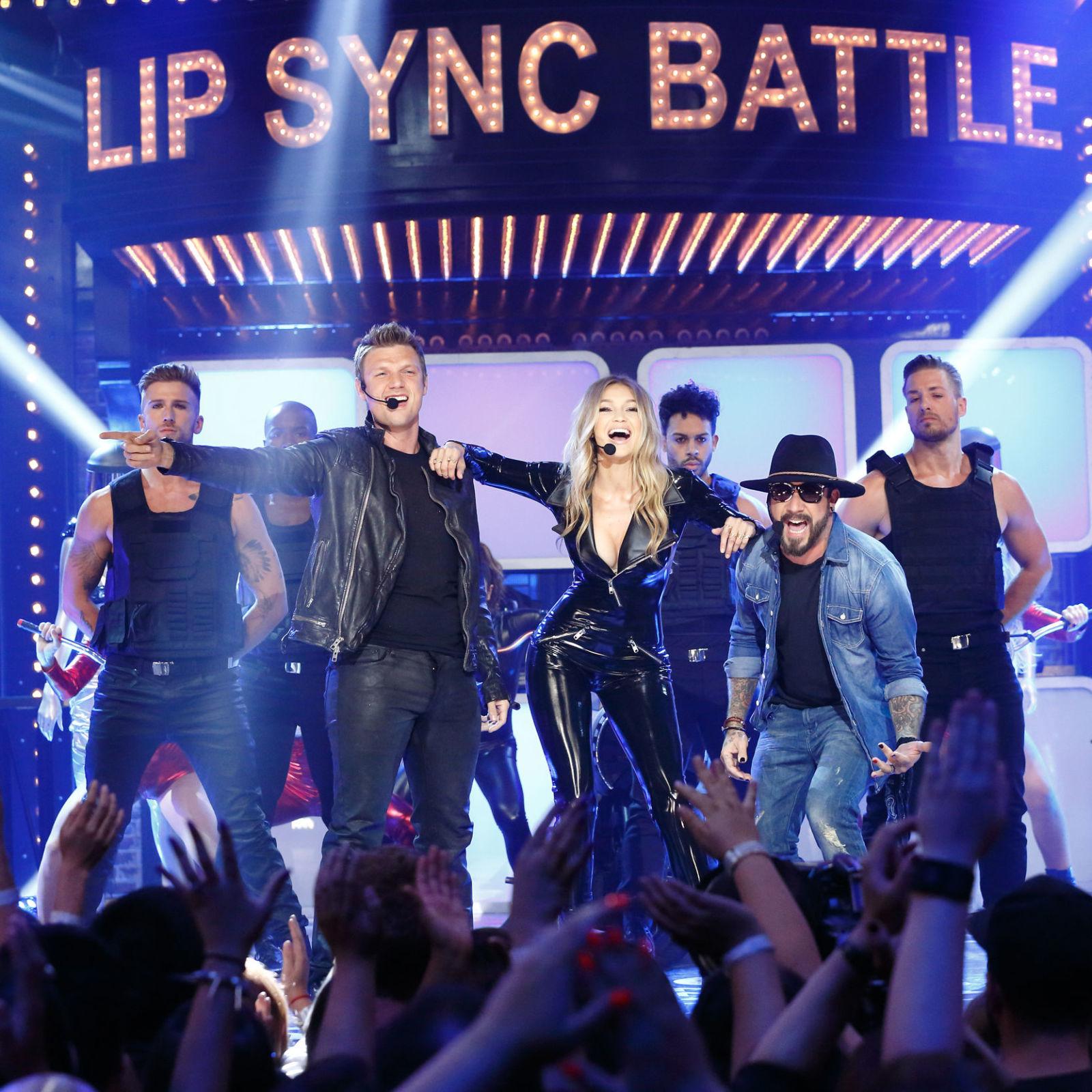 Gigi Hadid On Lip Sync Battle Video: Watch Gigi Hadid's Full 'Lip Sync Battle' Performance With