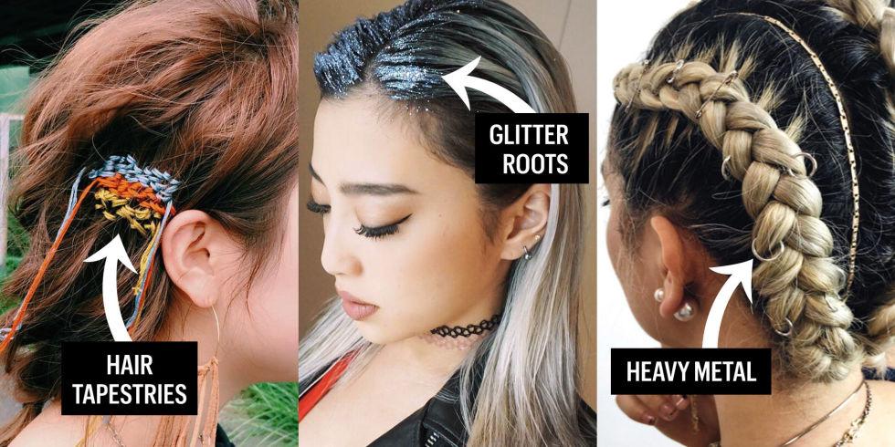 Admirable Music Festival Hairstyles 2016 Summer Hair Trends 2016 Short Hairstyles Gunalazisus
