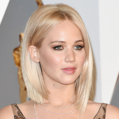 A platinum dye job that skews *slightly* silver for a more rock 'n' roll vibe, it's not easy to pull off and typically suits olive complexions best. We like how J-Law has warmed things up with hints of gold around the face.