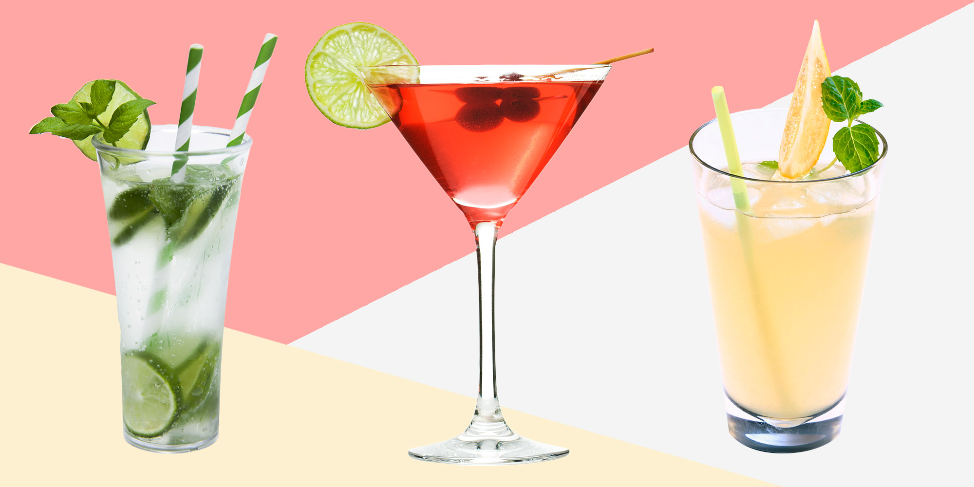 40 easy summer cocktail recipes refreshing summer drinks for Good alcoholic mixed drinks