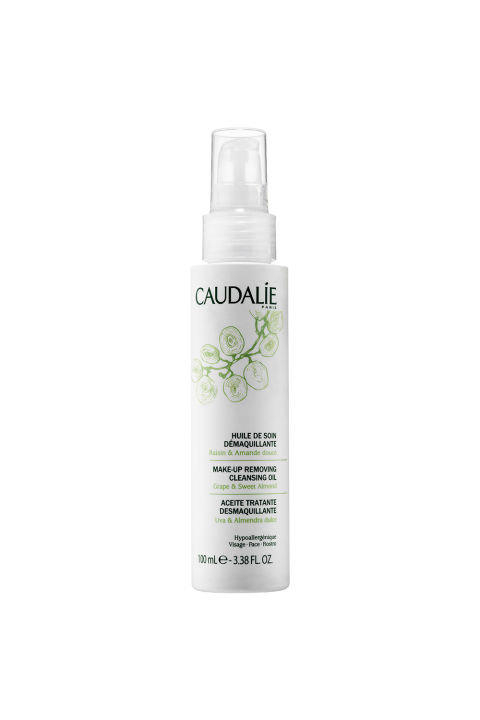 Don't leave your skin-care routine back home. Keep on top of it by bringing along your daily cleanser AND oil. Caudalie's two-in-one formula gently removes makeup, tones, and moisturizes the skin, and comes in a convenient TSA-friendly size. Caudalie Make-Up Removing Cleansing Oil, $28; sephora.com.