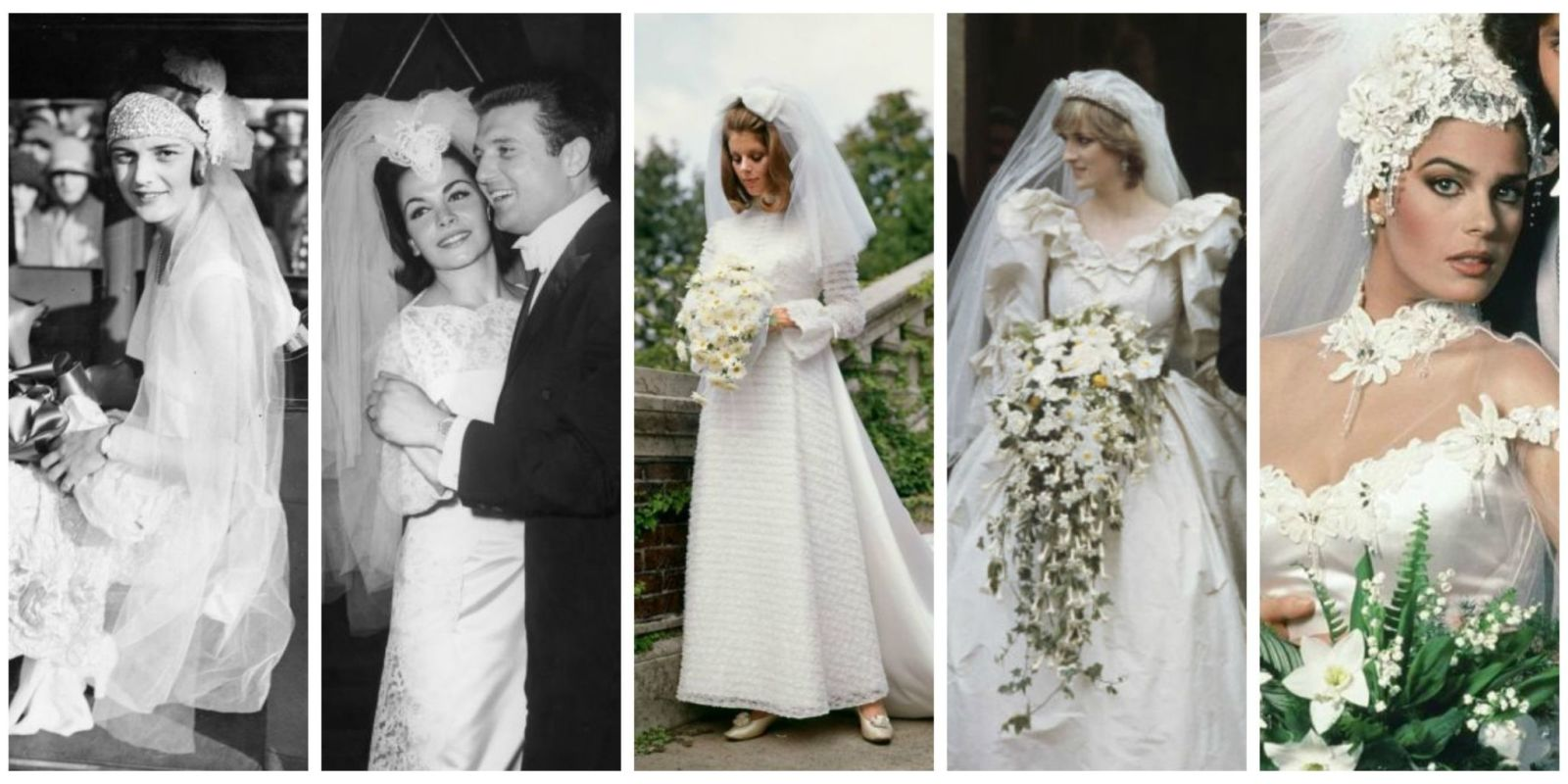 heres what weddings looked like the year you were born
