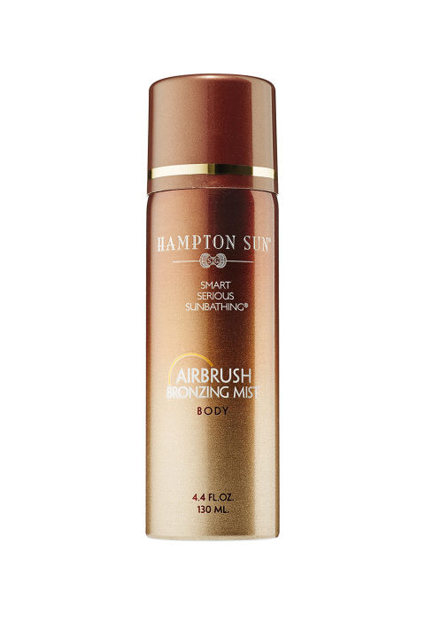 For a quick bronzing touch-up that you can easily spritz on before an event, beeline for this eco-friendly, skin enhancing formula (it contains almond and macadamia oils). Bonus: it's small enough to fit in any travel bag, so you can *still* get a tan even in cold and overcast locales. Hampton Sun Airbrush Bronzing Body Mist, $42; ulta.com.