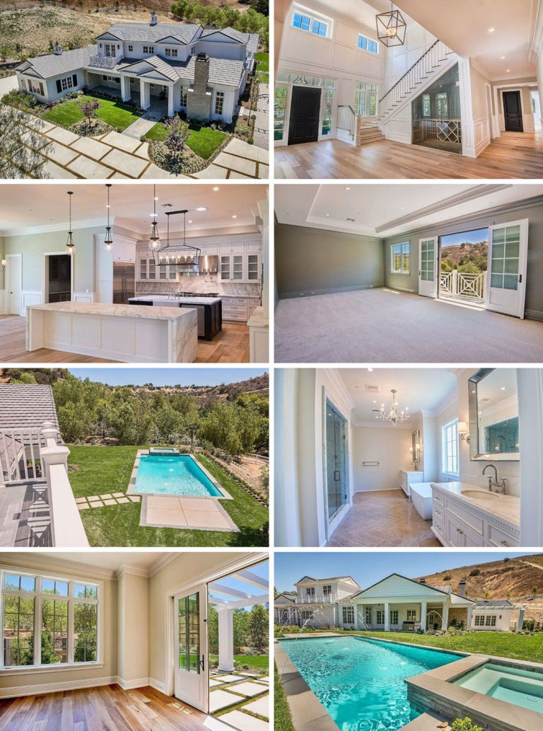 Enjoyable Kylie Jenners House And Kendall Jenners Apartment Photos Largest Home Design Picture Inspirations Pitcheantrous