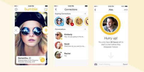 dating apps like tinder and bumble videos for women