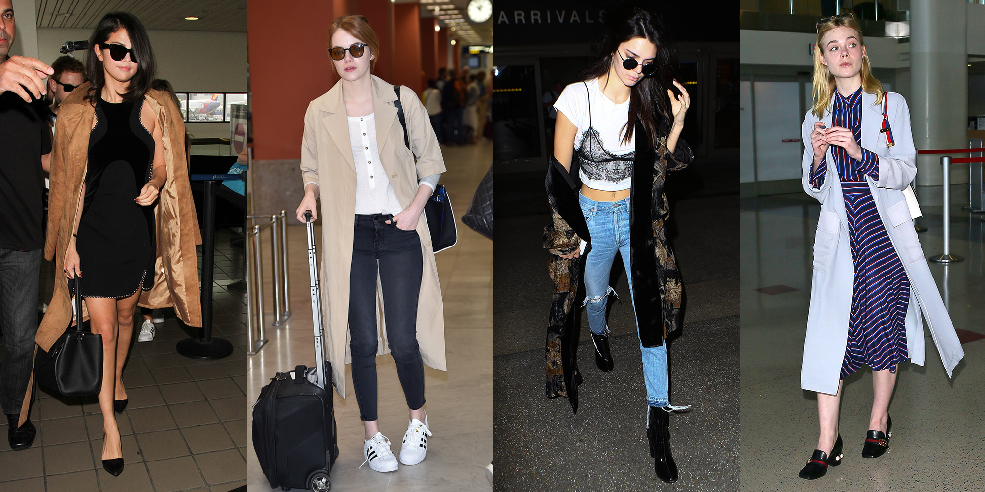 100 Celebrity Airport Fashion Looks How Celebs Travel In Style