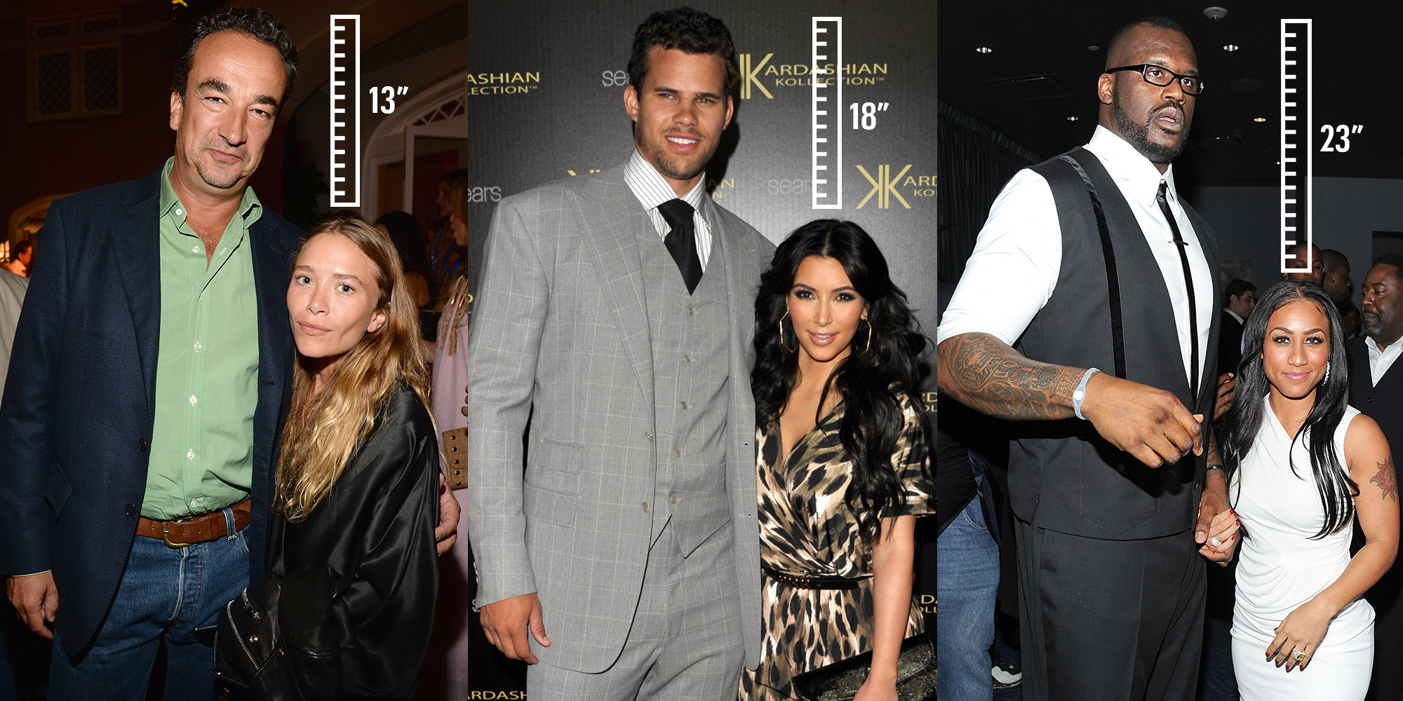 20 Celebrity Couples With a Major Height Difference