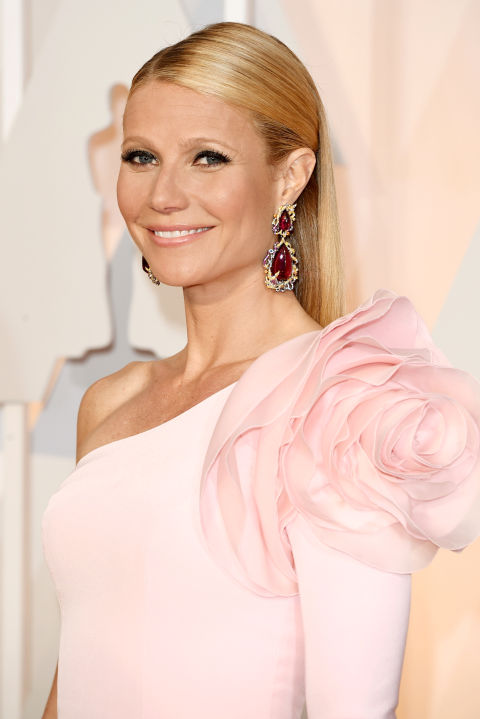 """Gwyneth Paltrow has never been shy about her off-kilter beauty regimen (she proudly gets vagina facials, after all) and her experimentation with voluntarily letting bees sting her in no exception. """"It's a thousands of years old treatment called apitherapy,"""" Paltrow told the The New York Times. """"People use it to get rid of inflammation and scarring. It's actually pretty incredible if you research it. But, man, it's painful."""" Err, we'll stick to hydrocortisone cream, thanks."""