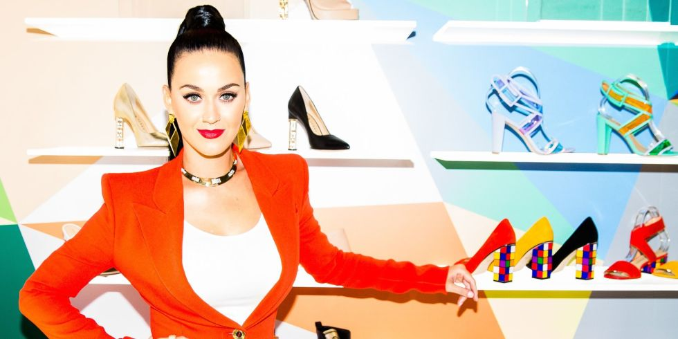 6ea943bcc5c6 Katy Perry s new shoe collection is literally artwork for feet ...