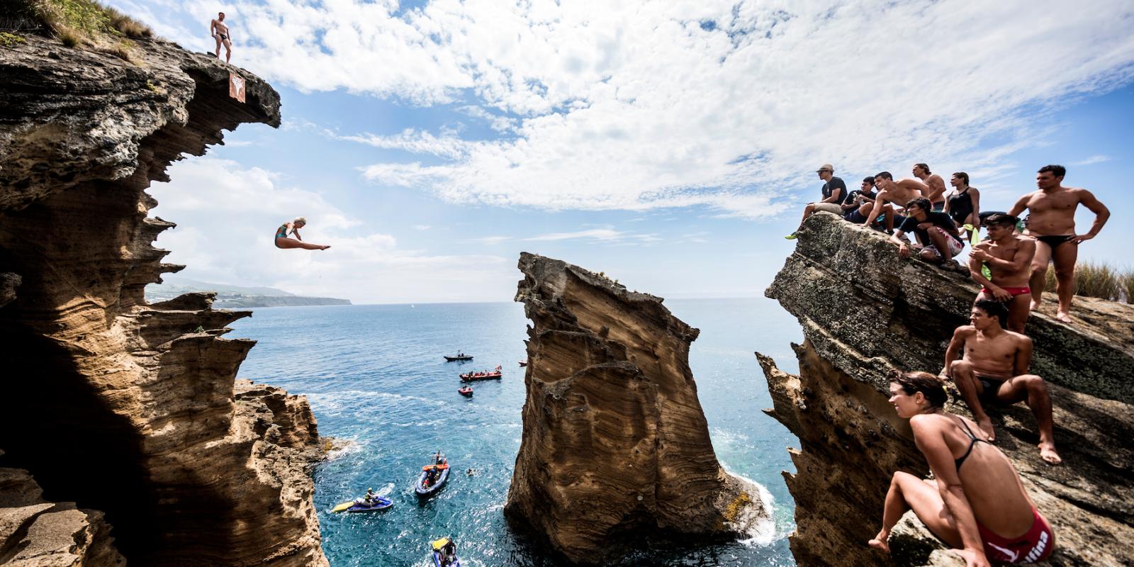 Rachelle simpson cliff diving champion interview 2016 - The cliff dive ...
