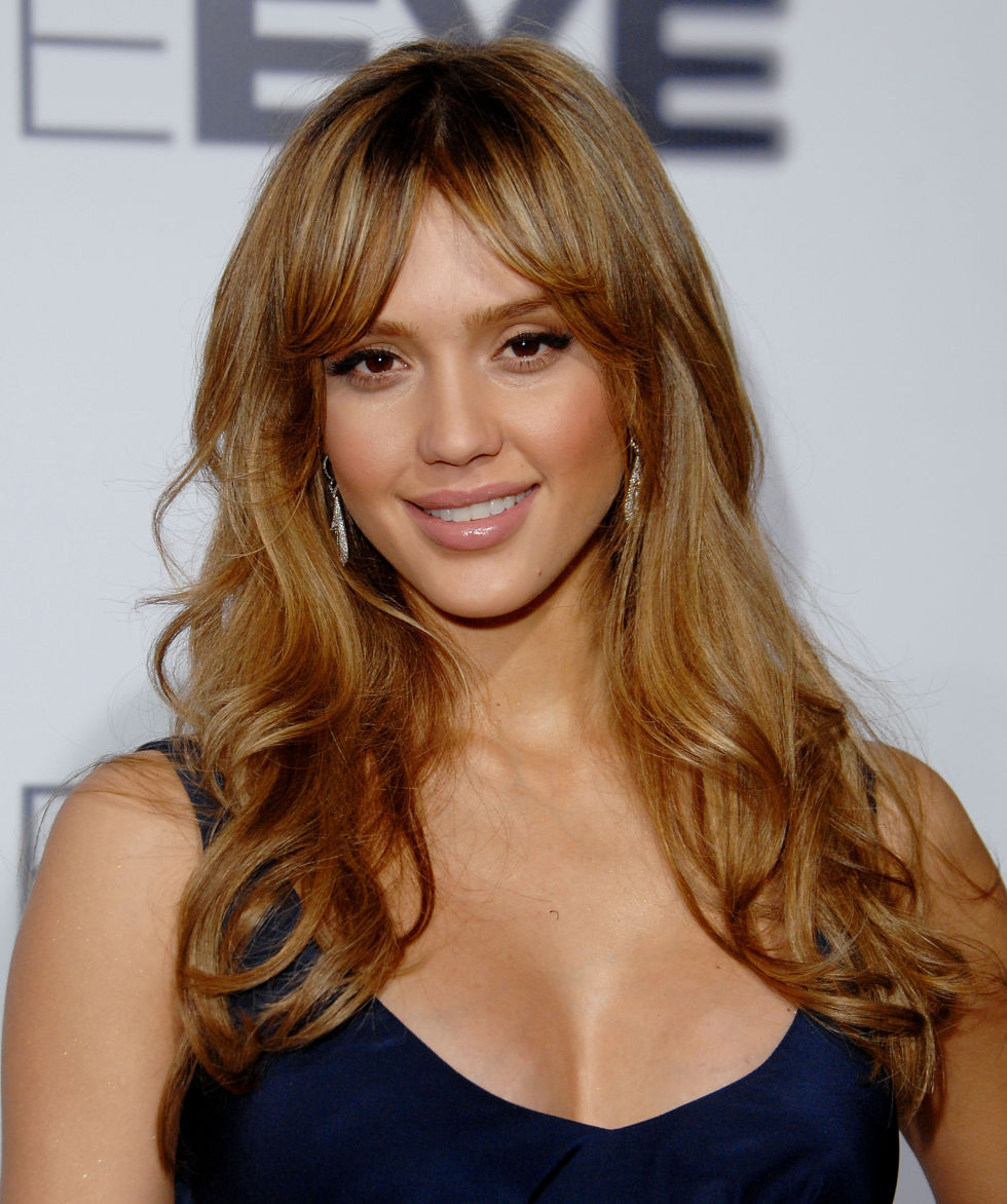 Excellent 35 Long Hairstyles With Bangs Best Celebrity Long Hair With Short Hairstyles Gunalazisus